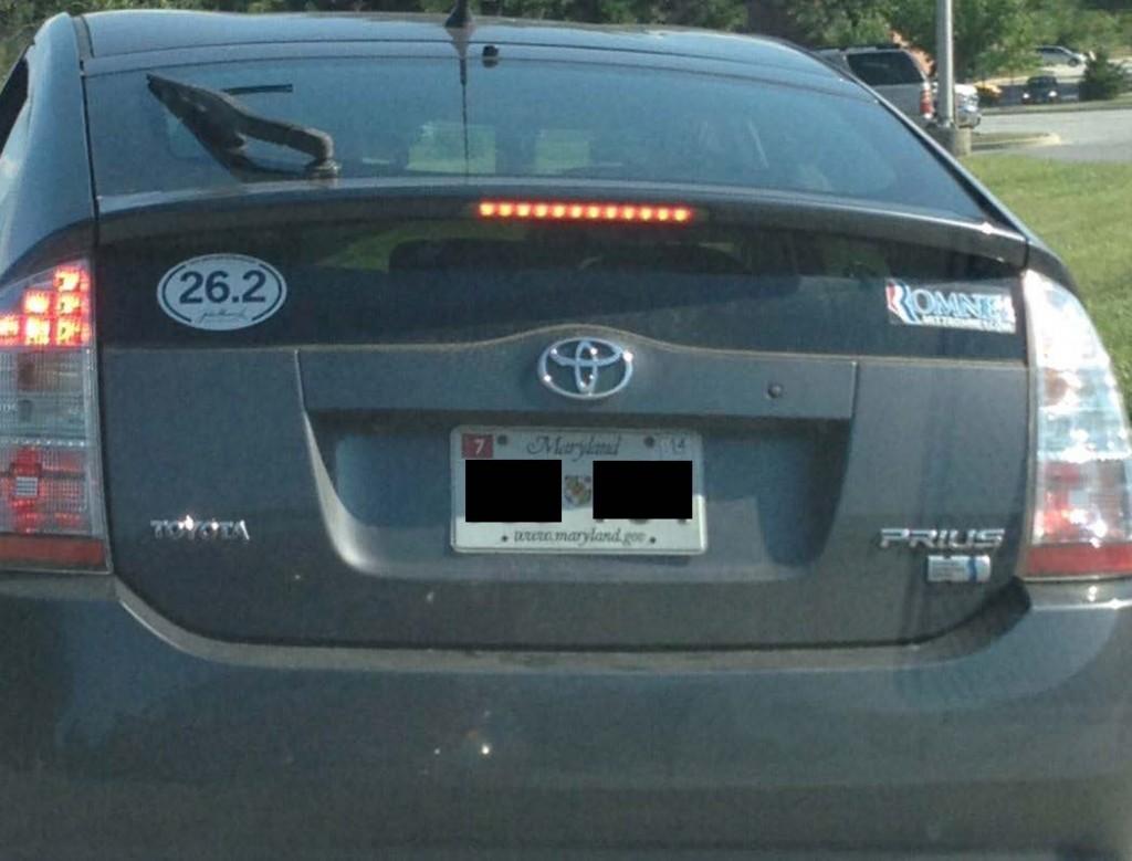 Chicago Car Parking Sticker