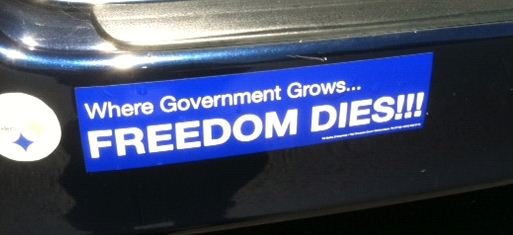 One comment · bumper stickers