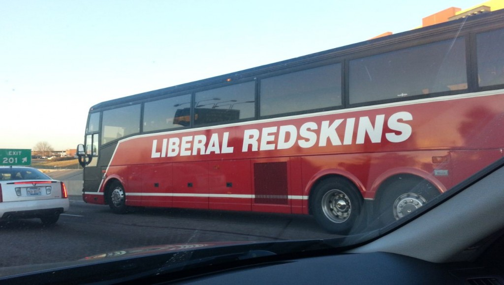 Liberal Redskins Bus