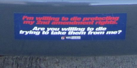Bumper Sticker - 2nd Amendment