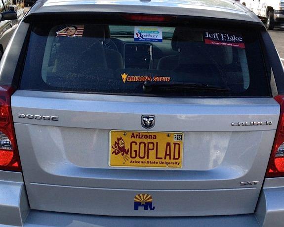 Bumper Sticker - Mesa AZ - GOPLAD