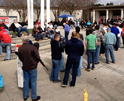 Jacksonville Gun Show 1-19-2013