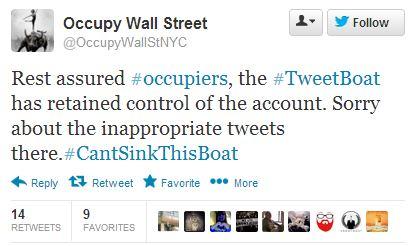 OWS tweet