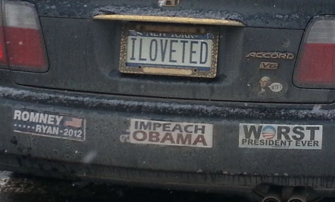Bumper Sticker - Cooperstown NY - Ted