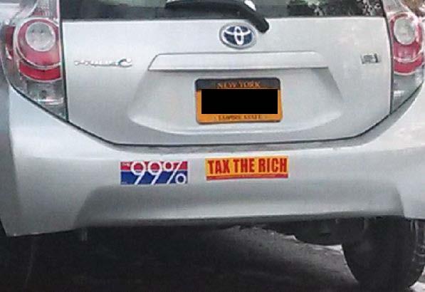 Bumper Sticker - Ithaca - 99 percent