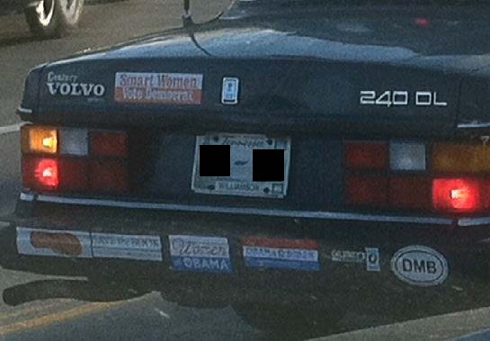 Bumper Stickers - Franklin TN - DMB
