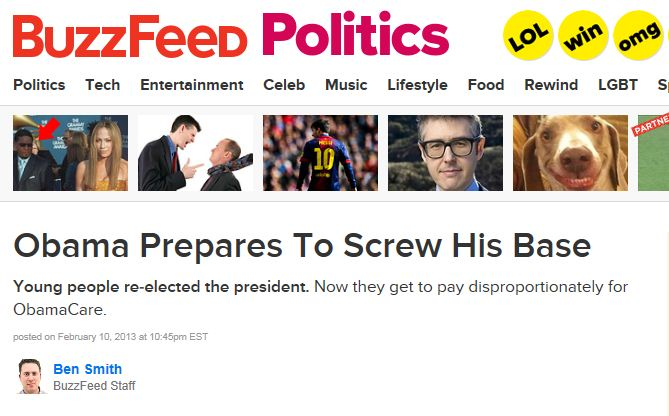 BuzzFeed - Obama prepares to screw his base