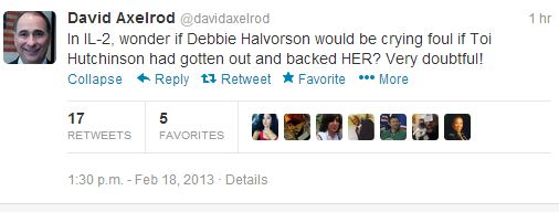 David Axelrod attacks Halvorson again