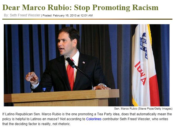 The Root Marco Rubio racism