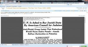 ACJ Against Israel