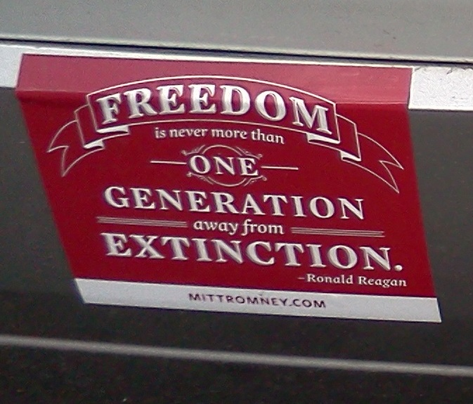 Bumper Sticker - Charlottesville VA - One Generation