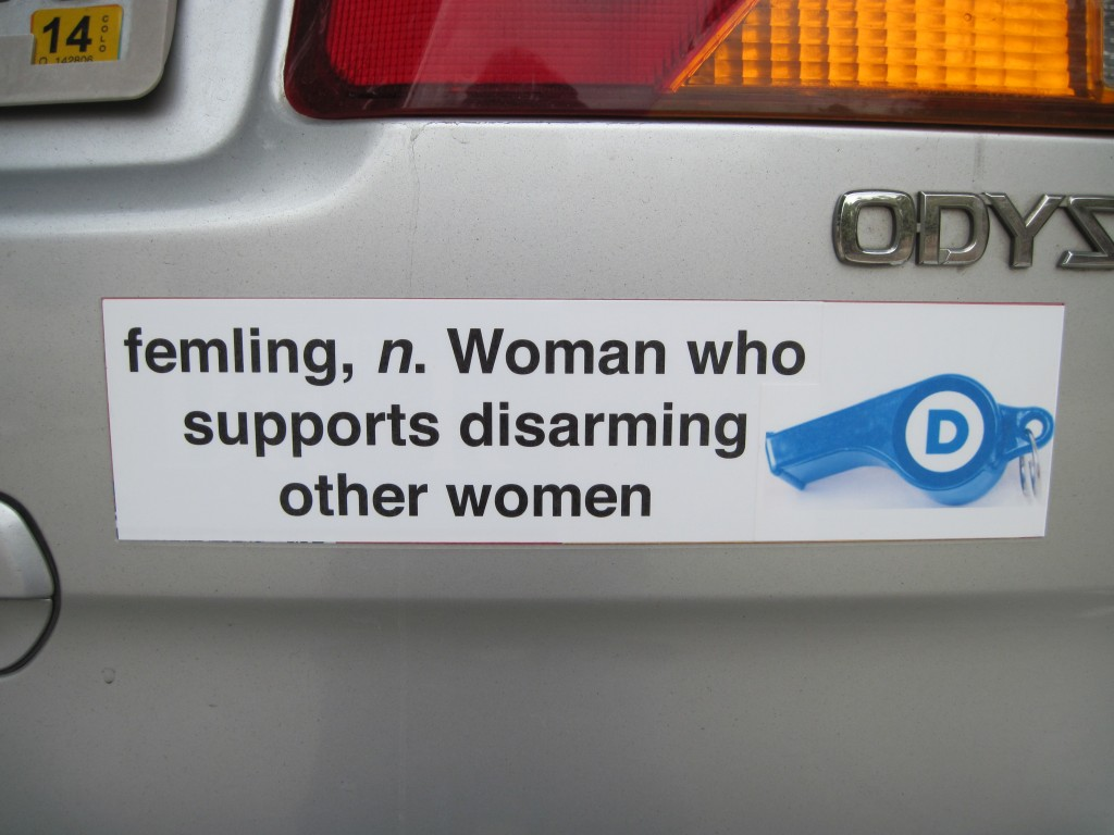 Bumper Sticker - Colorado Springs - Femling