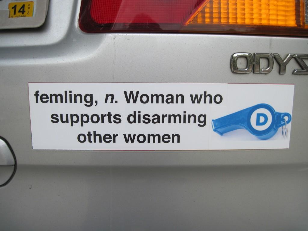 Bumper Sticker - Colorado Springs - Femling