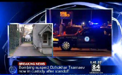 Boston Bombing Suspect In Custody