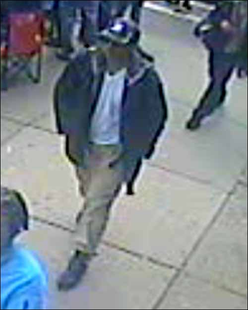 Boston Marathon Bombing Suspect Black Hat