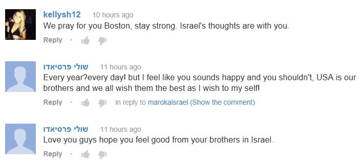 Boston Marathon Explosion Video Comments2