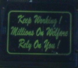 Bumper Sticker - Canada - Keep Working