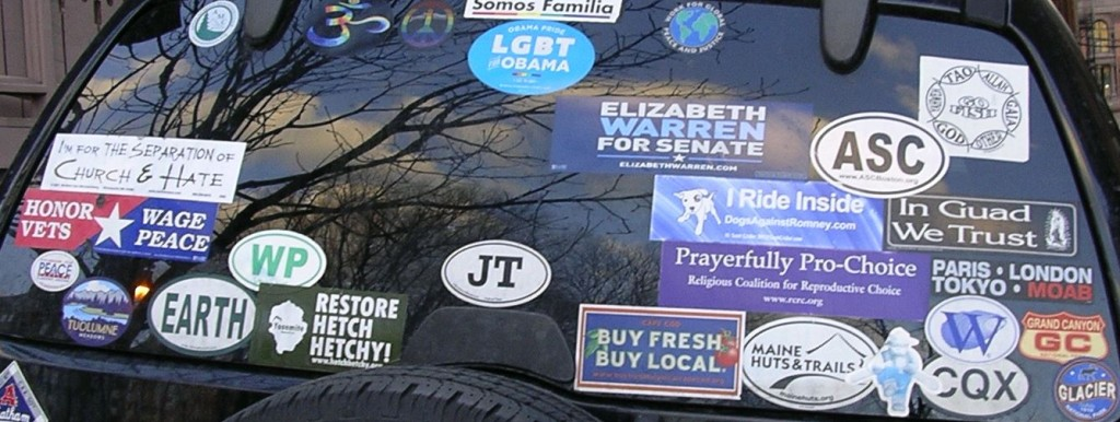 Bumper Stickers - Boston - Unitarian