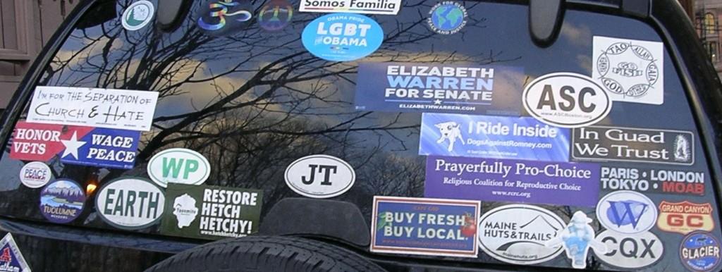 Bumper Stickers - Boston - Unitarian