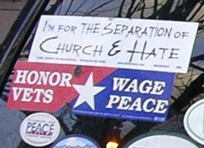Bumper Stickers - Boston - Unitarian2