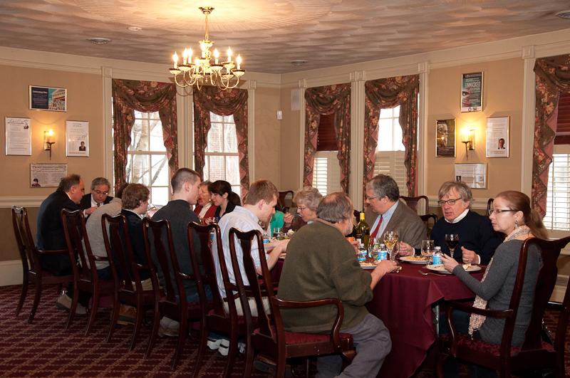 Dinner at Alexander Hamilton Institute for William Jacobson Cornell University Law School