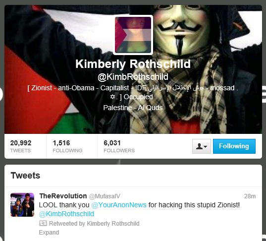 Kimberly Rothschild (KimbRothschild) on Twitter Hack 2
