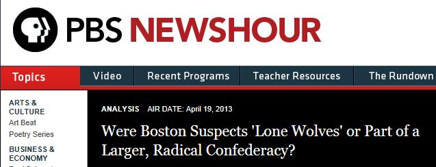 PBS Brothers Lone Wolves or Conspiracy
