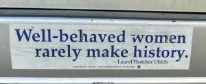 Bumper Sticker - Ithaca - Well Behaved Women