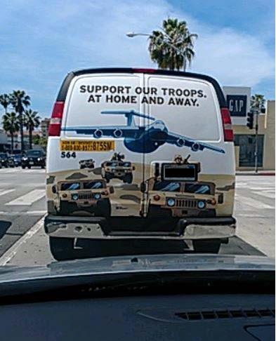 Bumper Sticker - Santa Monica - Patriot