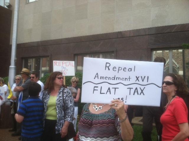 Nashville IRS Protest 1