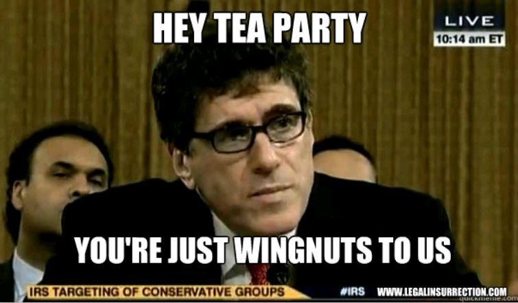 Quickmeme - IRS - Wingnuts