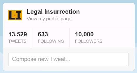 Twitter - Legal Insurrection 10000