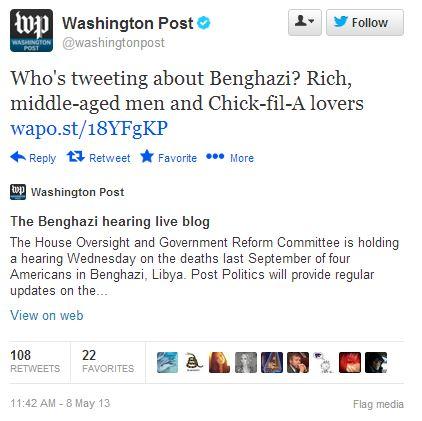 WaPo Benghazi tweet