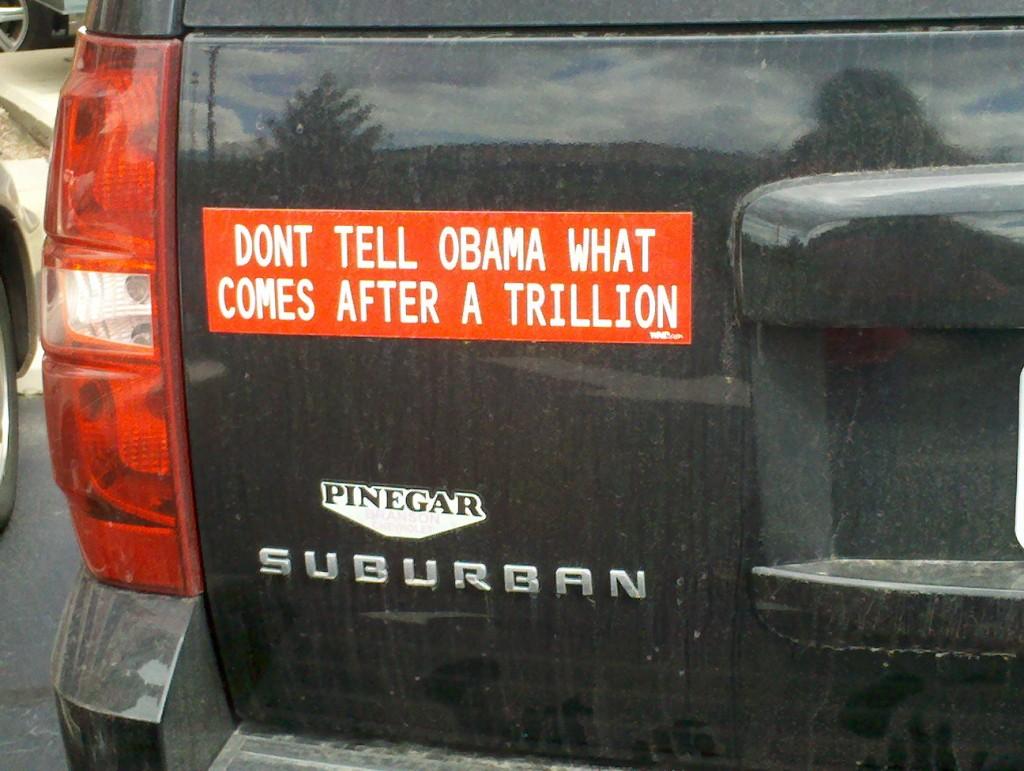 Bumper Sticker - Branson MO - Trillion