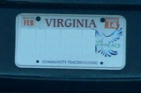Bumper Sticker - Virginia Community Peacebuilder