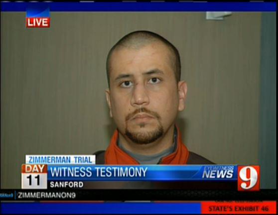 Zimmerman face police station