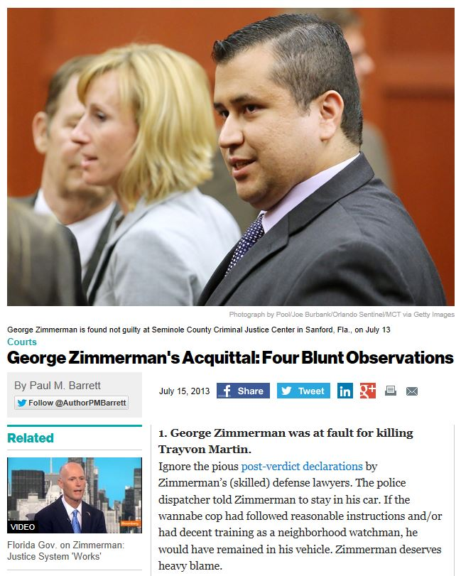 Business Week Four Blunt Observations Zimmerman