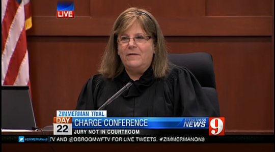 Judge Nelson, Florida v. Zimmerman