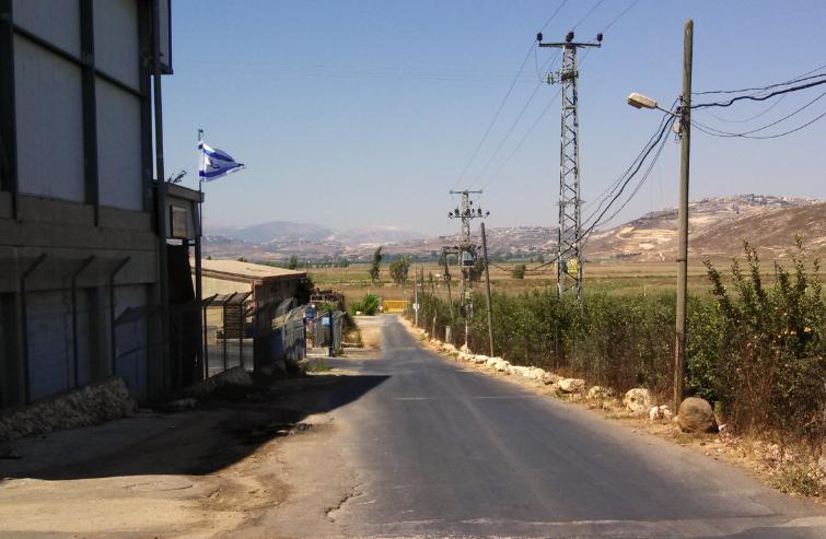 Metula Israel  city photos gallery : Lebanese Border, Metula, Israel – street view