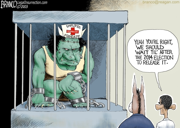 Obama-care Mandate releasing the monster