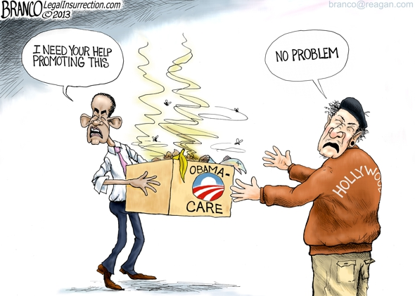 Hollywood to Promote Obama-care