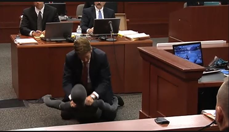 (Defense attorney Mark O'Mara during Zimmerman trial)