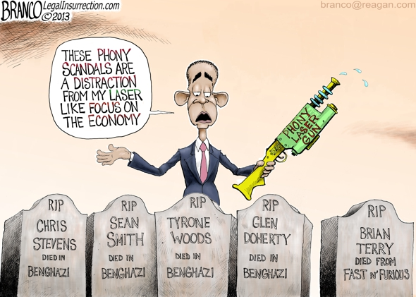 Obama Phony Scandals