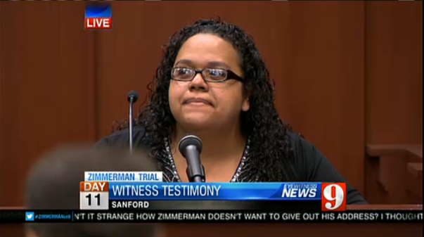 State witness Wendy Dorival
