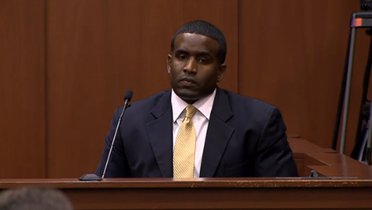 State witness Captain Alex Carter