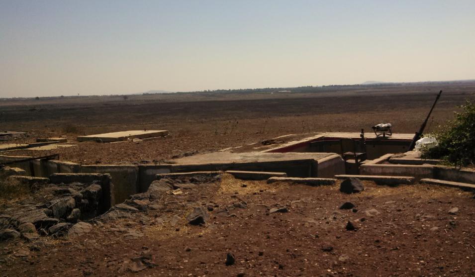 (Tel Saki Battle Memorial, Golan Heights, Israel - Lookout Bunker)