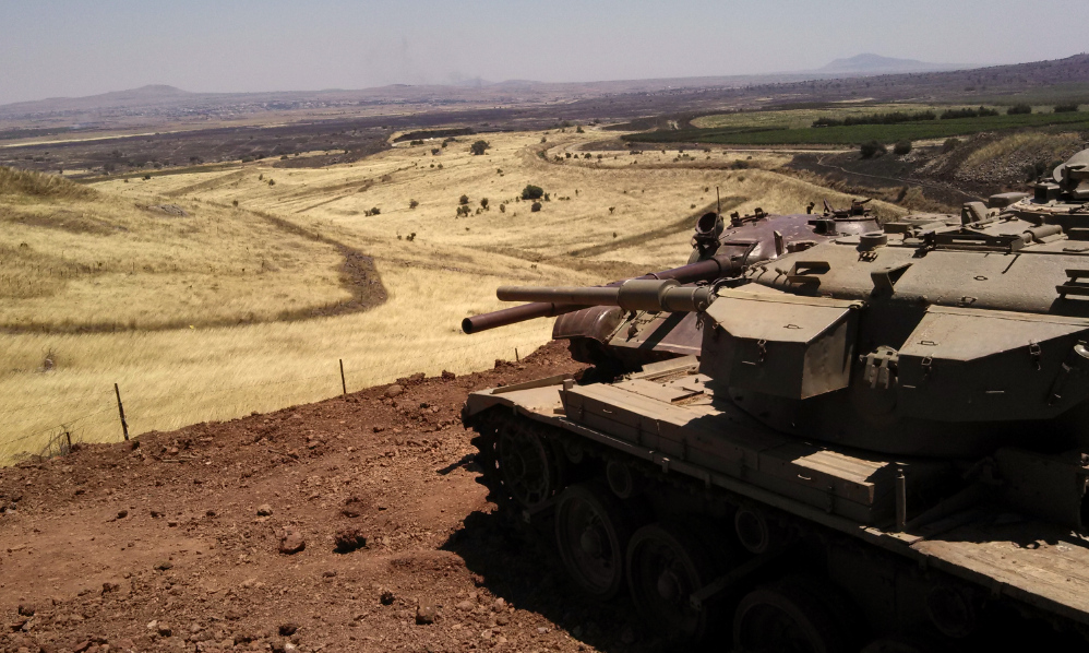 Valley of Tears Monument - Golan Heights - Israeli and Syrian Tanks