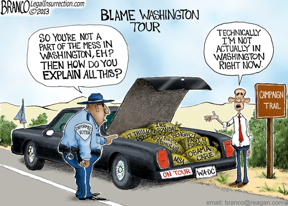 Obama Blames Washington