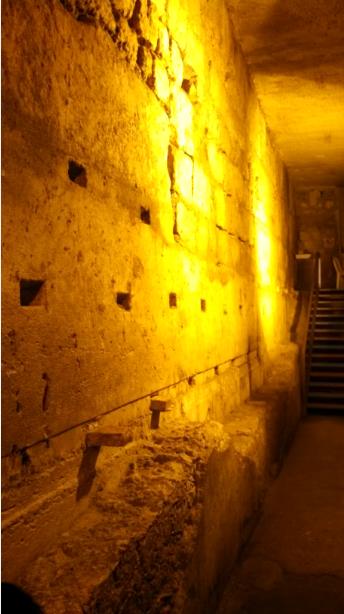 Western Wall Below Street Level