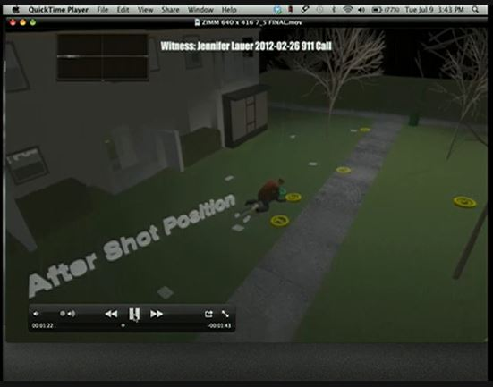 Zimmerman expert animation after shot position 3